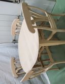 Table Ronde   chaises